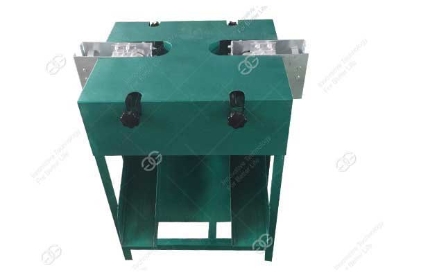 Automatic Garlic Stem Root Cutting Machine
