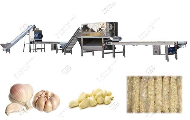 Automatic Garlic Peeling Processing Plant