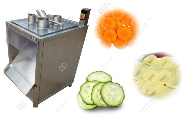 Automatic Vegetable Slicer Machine For banana Chips Carrot Cucumber