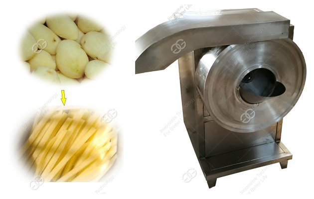 Industrial Potato Cutting Machine For French Fries Production Line