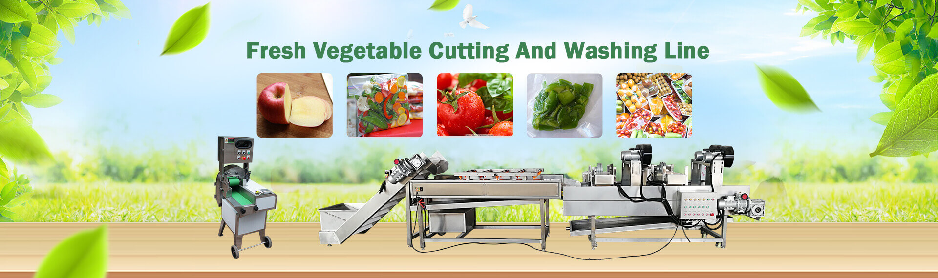 Fresh Vegetable Cutting Line