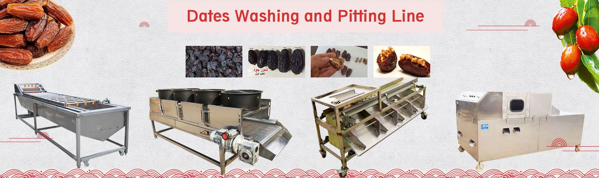 Dates Process Machines