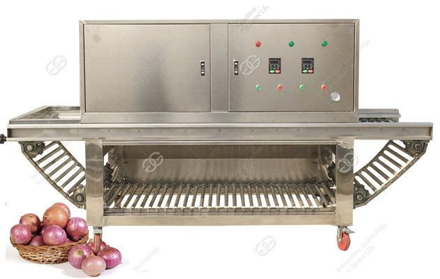 Commercial Onion Peeling Machine Manufacturer For Different Size Onion