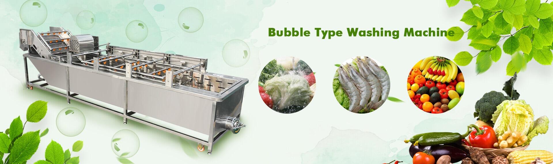 Automatic Bubble Type Washing Machine
