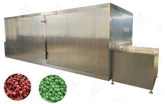 Multifunctional IQF Frozen Food Freezing Machine Save Energy