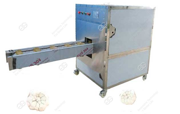 automatic garlic root cutting machine