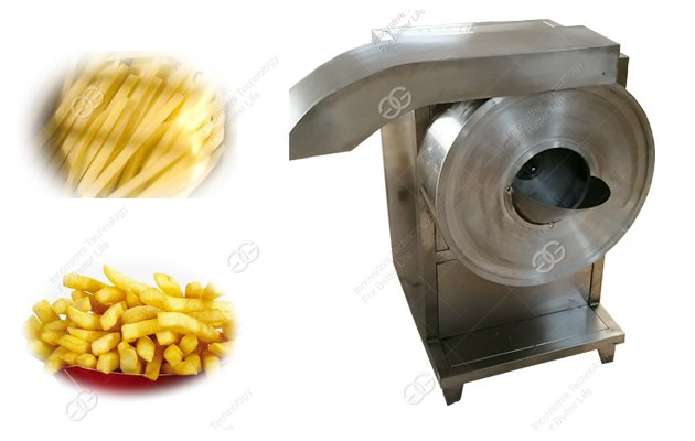 commercial french fries cutting machine