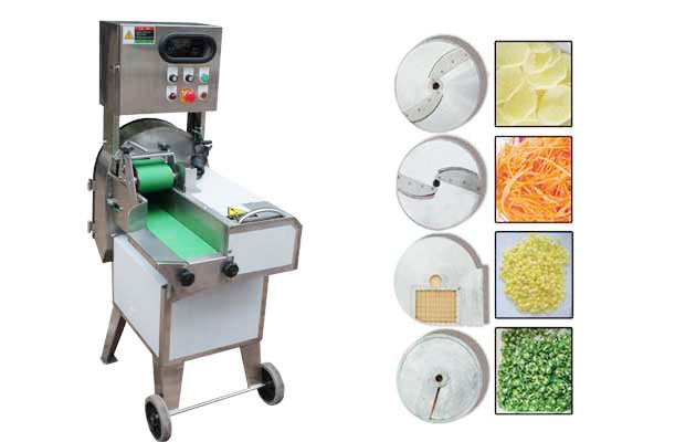 Commercial Vegetable Cutting Machine With Double Frequency