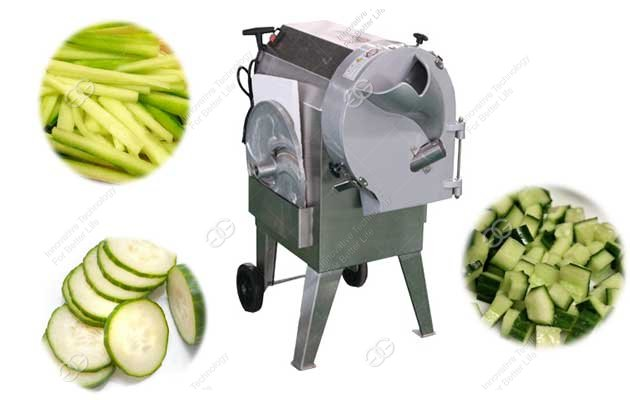 root vegetable cutting machine