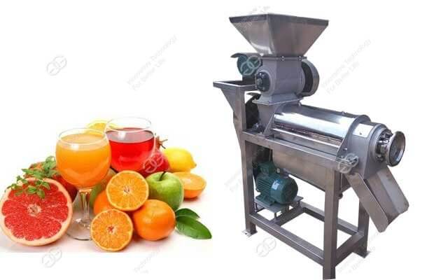 fruit juice extracting machine