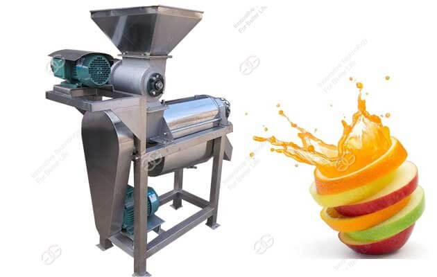 crush type fruit juice making machine