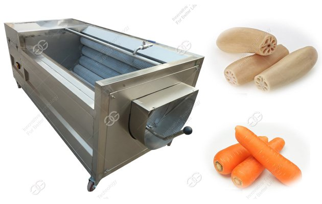 commercial carrot peeler machine
