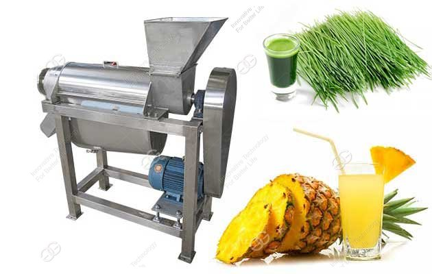 screw type juice extractor machine