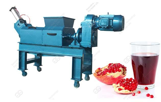 automatic pomegranate juice extractor machine