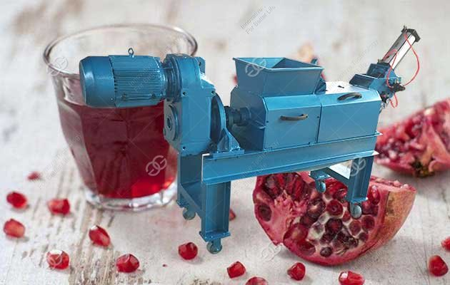 pomegranate juice extractor machine
