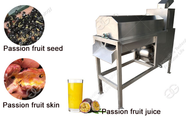 Stainless Steel Passion Fruit Juice Extractor Machine