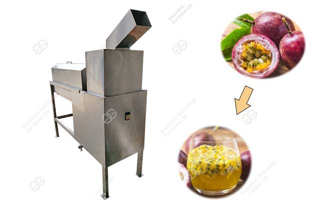passion fruit juice processing machine