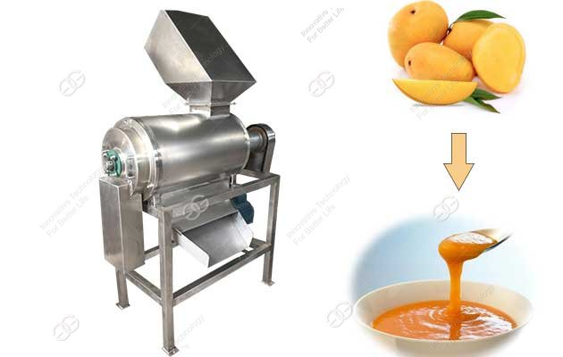 mango pulping machine automatic