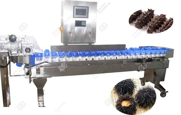 seafood weight sorting machine