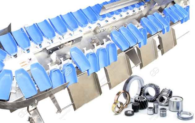 Car accessories weight sorting machine