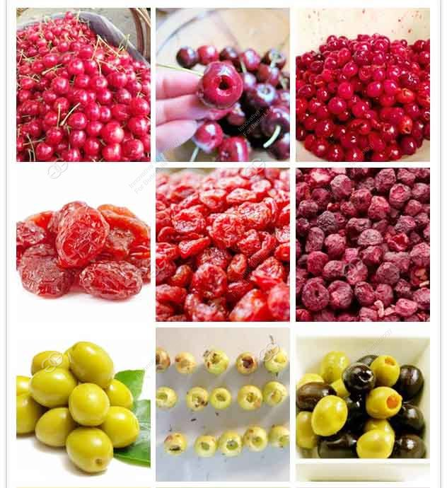 commercial fruit cherry olive pitting machine price