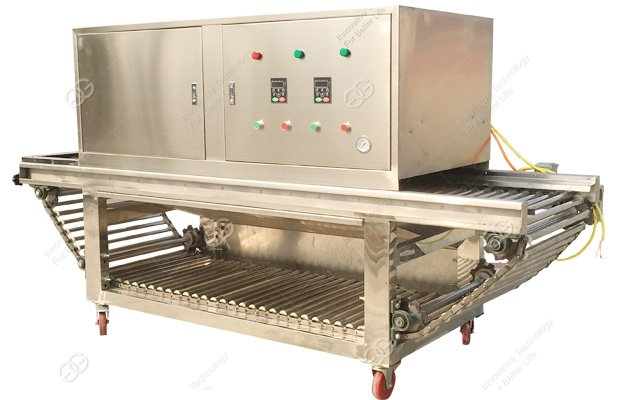 onion ksin removal machine