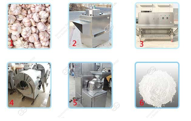 automatic garlic powder production line