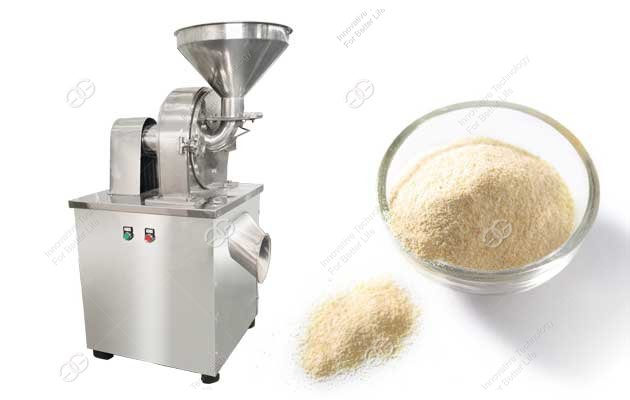 garlic powder making machine