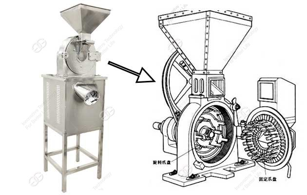 automnatic dry ginger powder making machine manufacturer