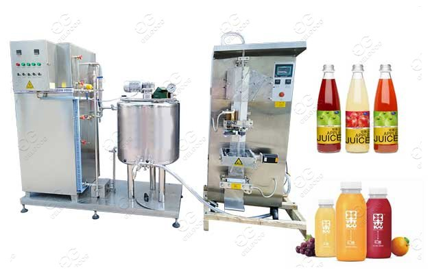 Industrial Juice Pasteurizer Machine