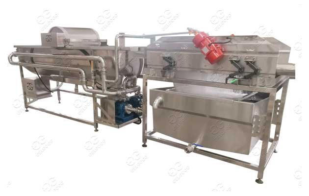 vegetable cleaning machine supplier