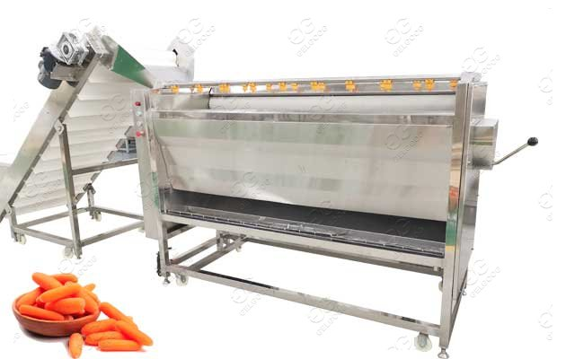 Carrot Washing Peeling Machine With Polishing Function