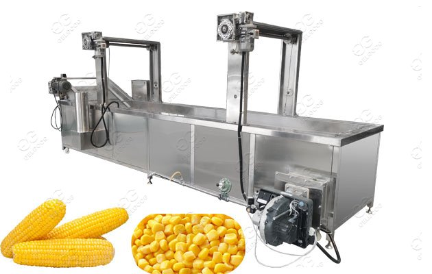 Fresh Sweet Corn Blanching Machine