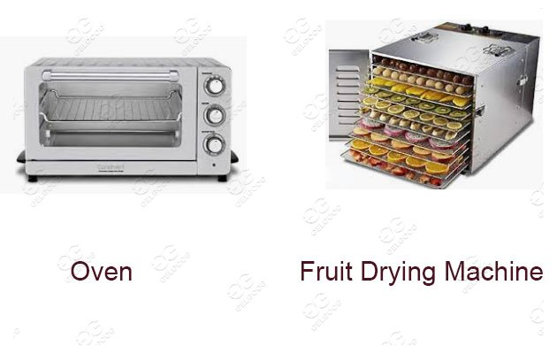 what is the difference between oven & fruits drying machine
