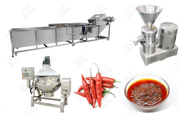 Sauece Production Line Chili Sauce Manufacturing Process