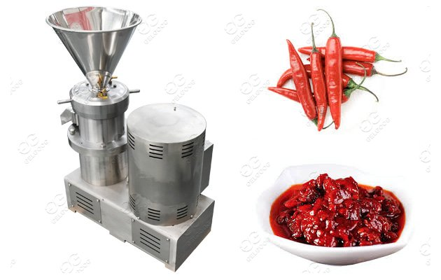 Stainless Steel Chili Sauce Making Machine Chili Paste Grinder Machine