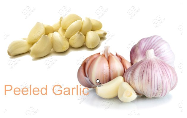 How Is Garlic Peeled Commercially In China