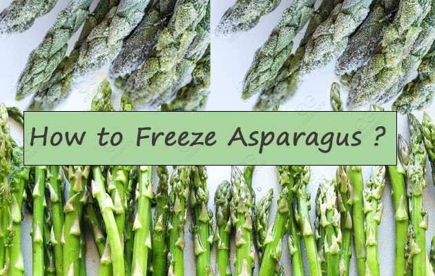 How To Properly Freeze Crunchy Asparagus ?