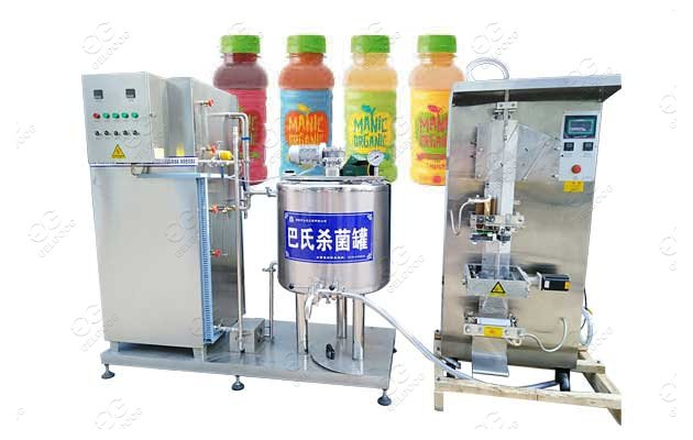 Small Scale Beverage Juice Pasteurization Equipment Mini Fruit Juice Pasteurizer