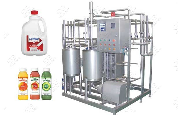 Ultra High Temperature Htst Milk Pasteurization Equipment For Sale
