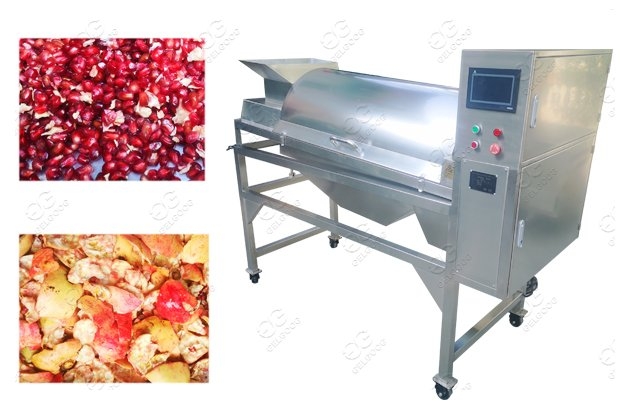 Automatic Pomegranate Peeling Machine With Seed Completeness rate 96%